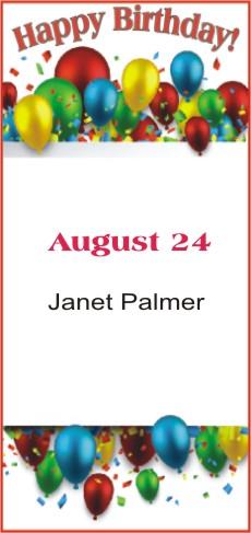 Happy Birthday to Palmer