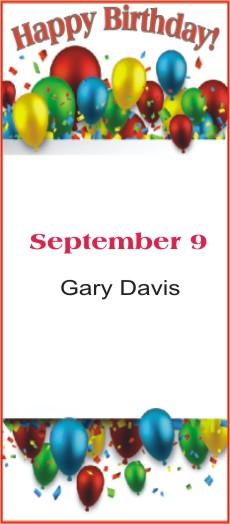 Happy Birthday to Davis