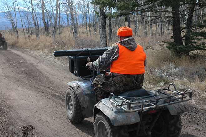 PICT Hunter on ATV - CPW