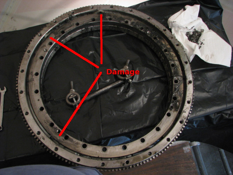 PICT Damaged Radar Bull Gear - NWS