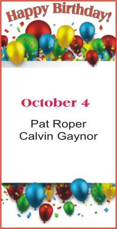 Happy Birthday to Roper Gaynor