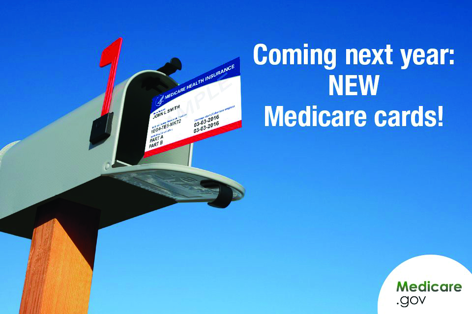 PICT - New Medicare Cards Coming in 2017 - Family Features