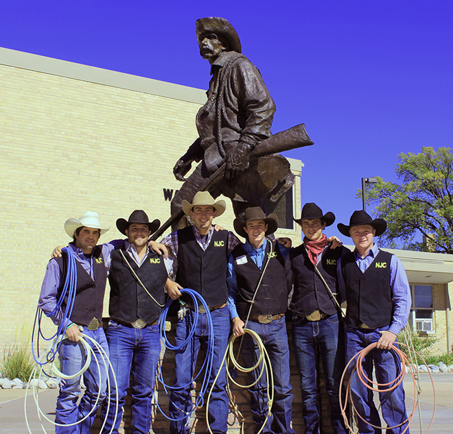 Njc Rodeo Team Champs In Wyoming Competition Kiowa
