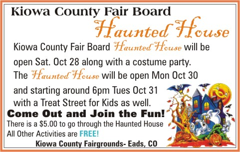 ADV - Kiowa County Fair Board Haunted House
