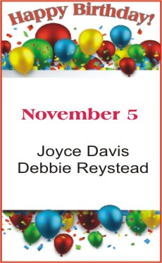 Happy Birthday to Davis Reystead