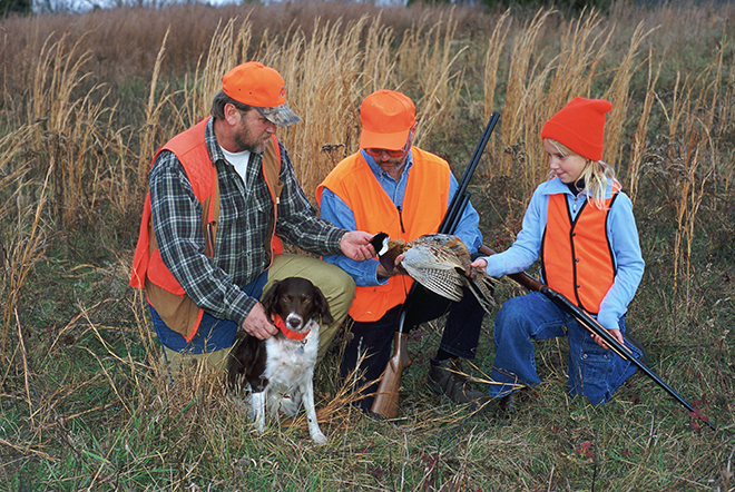 PICT Hunting - Hunters Dog Pheasant - USFWS