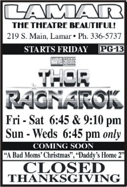 Lamar Theatre 2017-11-17