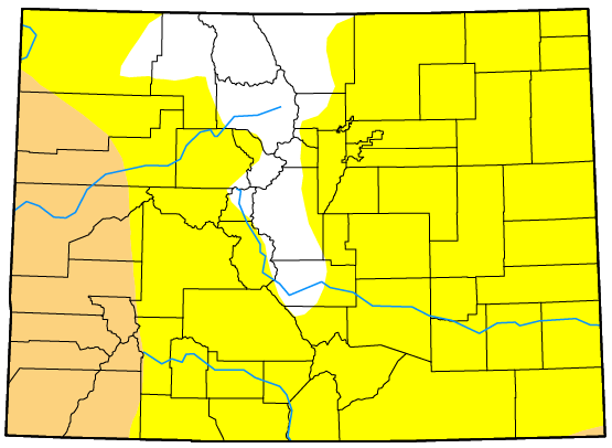 MAP Colorado Drought December 12, 2017