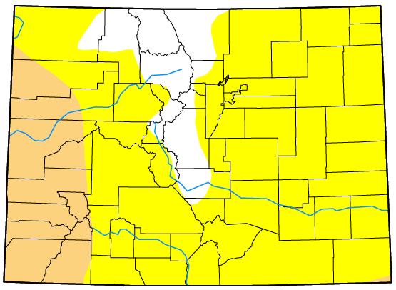 MAP Colorado Drought December 12, 2017