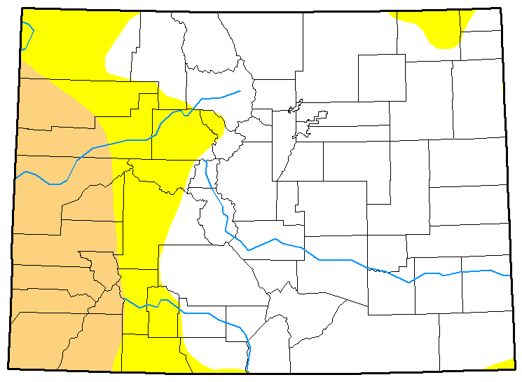 MAP Colorado Drought December 5, 2017
