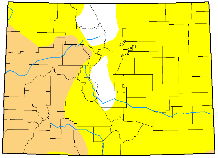 MAP Colorado Drought December 19, 2017