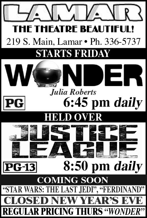 Lamar Theatre 2017-12-29