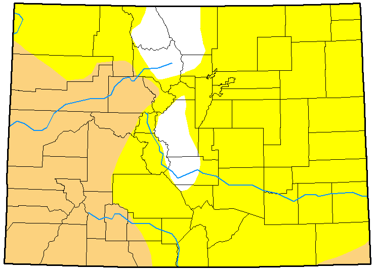 MAP Colorado Drought December 26, 2017