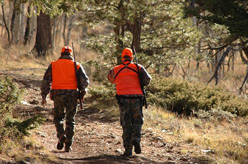 2017 PICT hunters walking