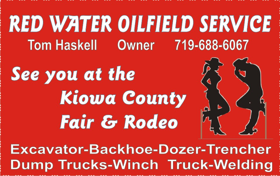 PICT 2019 Kiowa County Fair Sponsor - Red Water Oilfield Service