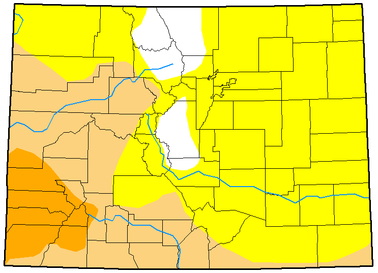 MAP Colorado Drought January 2, 2018