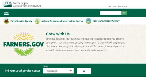 PICT Farmers-gov Web Site