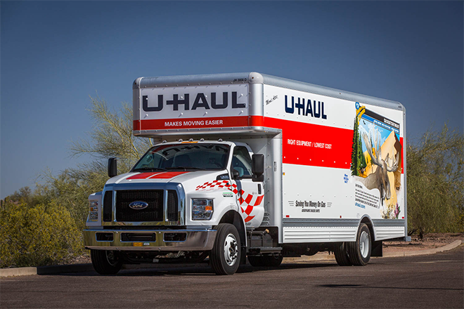 PICT UHaul Truck