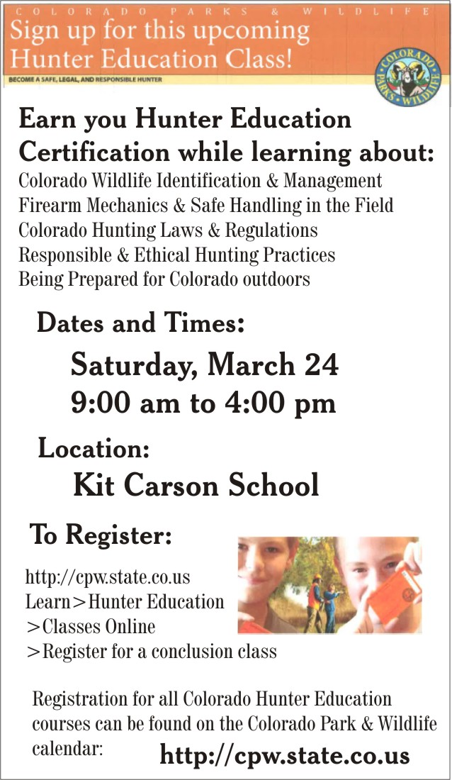 ADV - Hunter Education Course