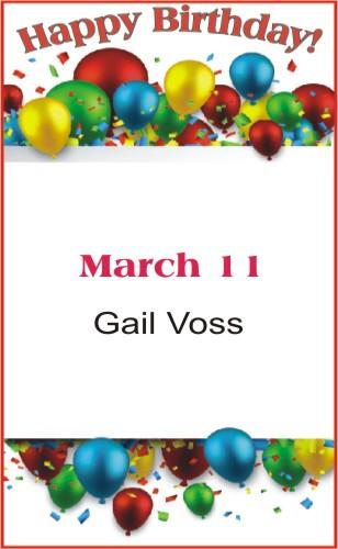 Happy Birthday to Voss