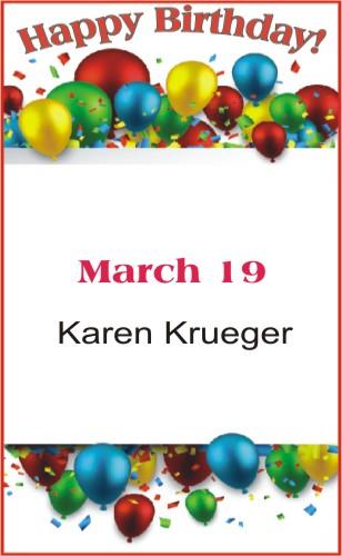 Happy Birthday to Krueger