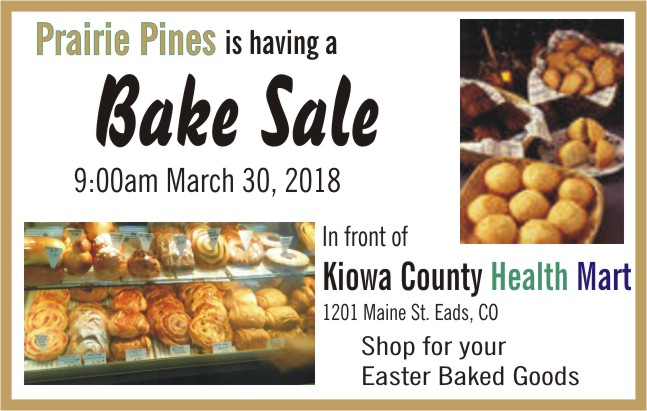 ADV - Bake Sale Prairie Pines