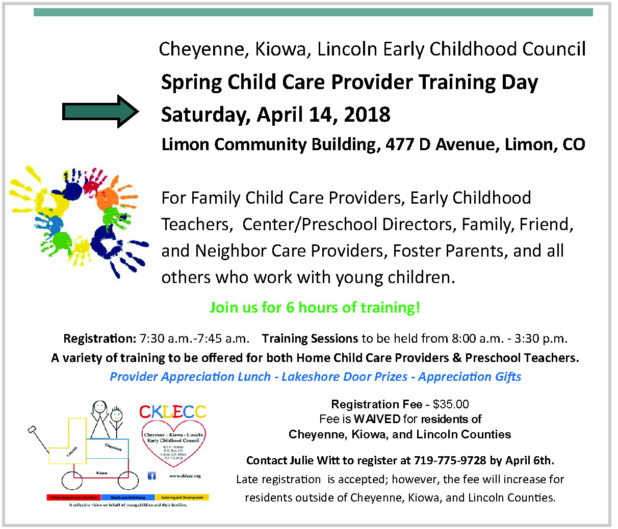 ADV - CKLECC Child Care Training