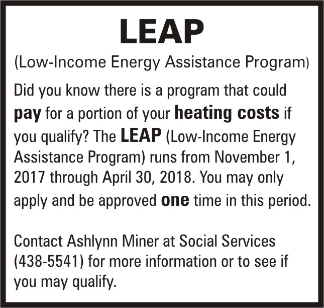 ADV - Low-Income Energy Assistance Program 2018