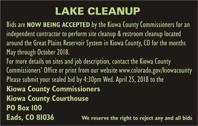 ADV - Lake Cleanup 2018