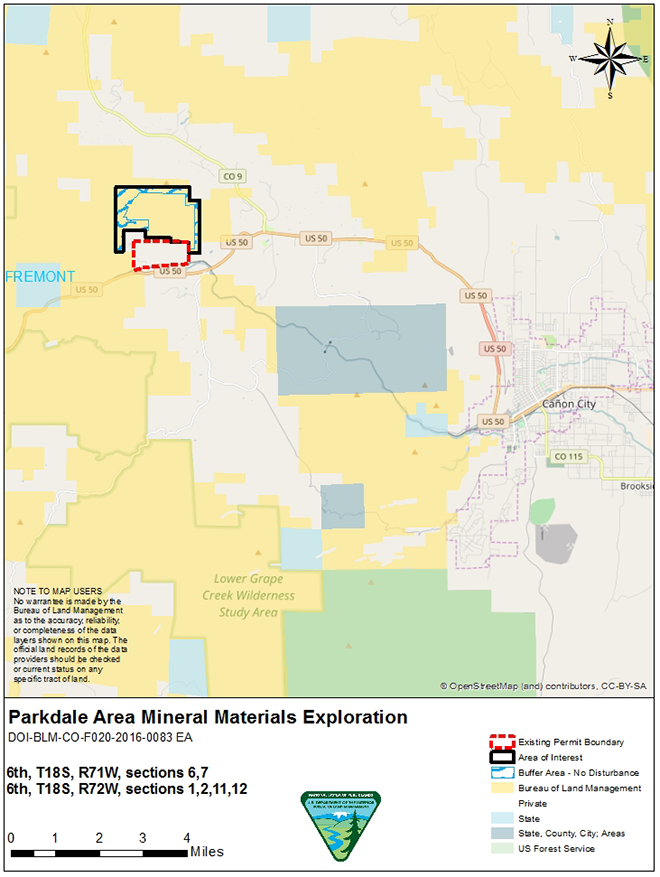MAP Parkdale Overview - BLM