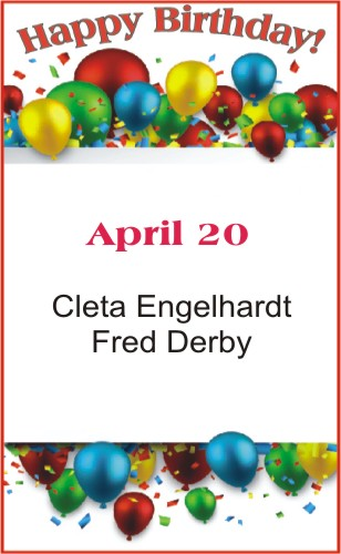 Happy Birthday to Engelhardt Derby