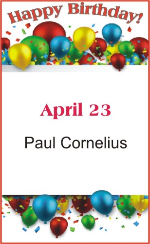 Happy Birthday to Cornelius