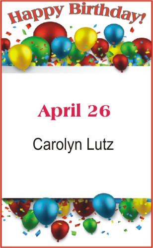 Happy Birthday to Lutz