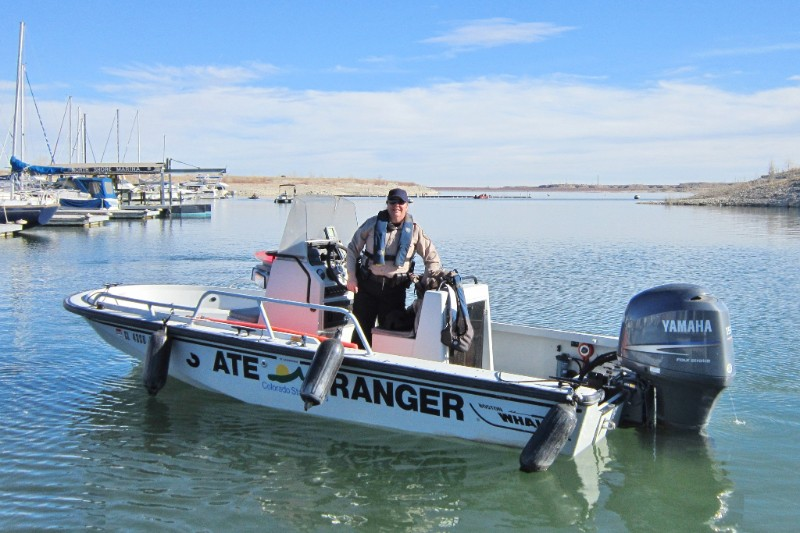 PICT Ranger Darcy Mount at Lake Pueblo - CPW