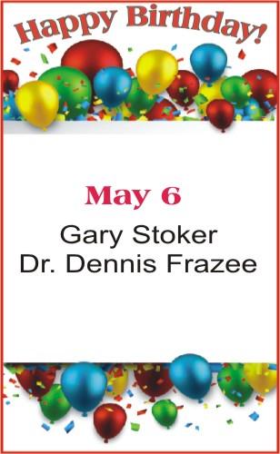 Happy Birthday to Stoker Frazee