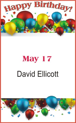 Happy Birthday to Ellicott