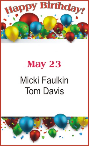 Happy Birthday to Faulkin Davis