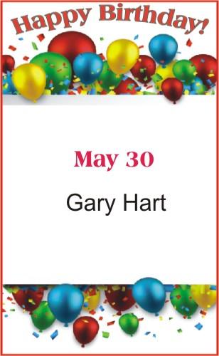 Happy Birthday to Hart