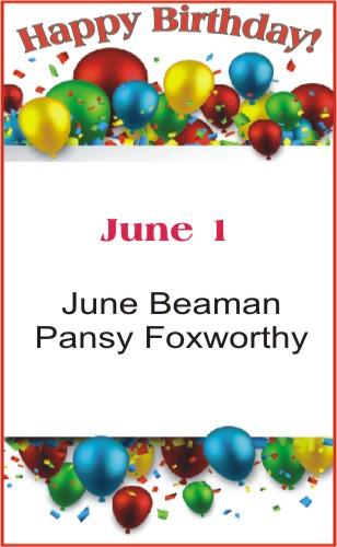 Happy Birthday to Beaman Foxworthy