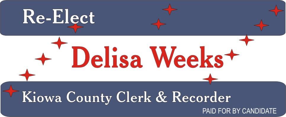 ADV - Re-elect Delisa Weeks 2018