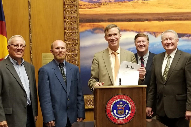 PICT Governor Bill Signing SB18-188 - CDA