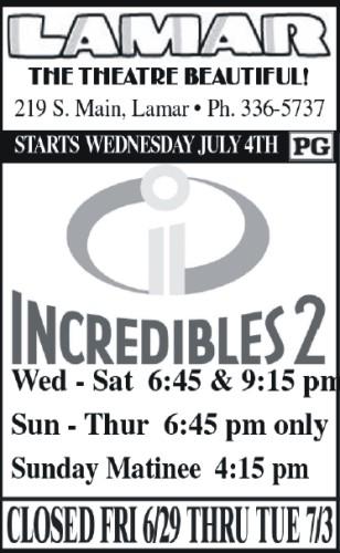 Lamar Theatre - 2018-06-29