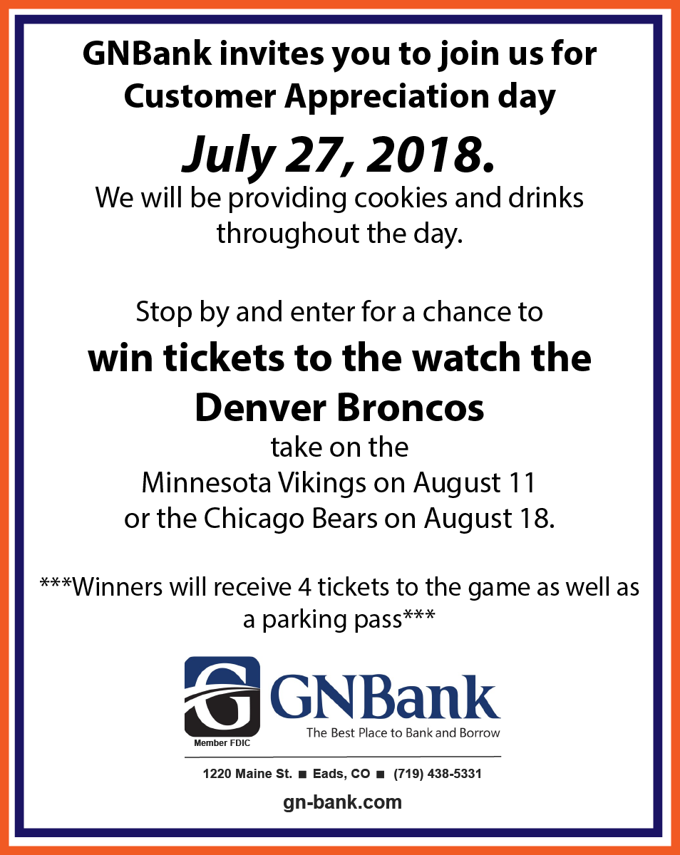 AD - Customer Appreciation Day 2018 at GNBank