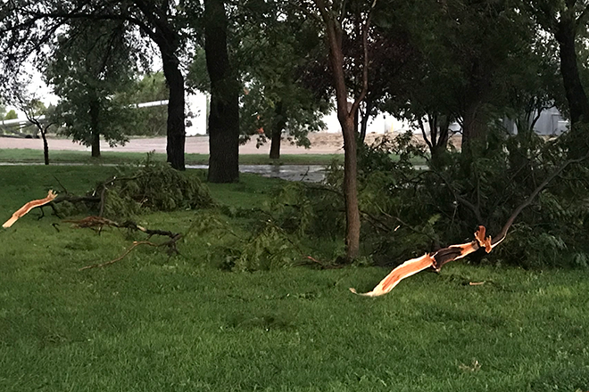 PICT July 27, 2018, Storm Damage in Eads - Chris Sorensen
