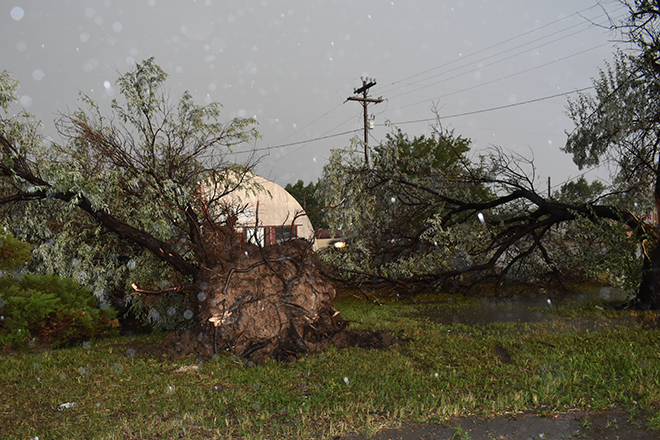 PICT July 27, 2018, Storm Damage in Eads - Chris Sorensen