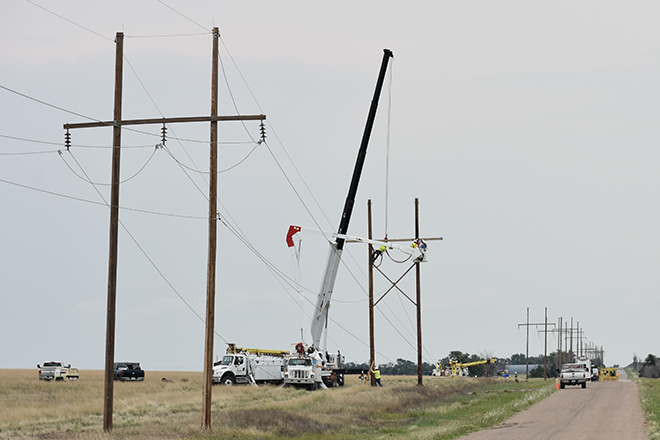 2018-07-28 PICT Power Line Repair Lineman Crane - Chris Sorensen