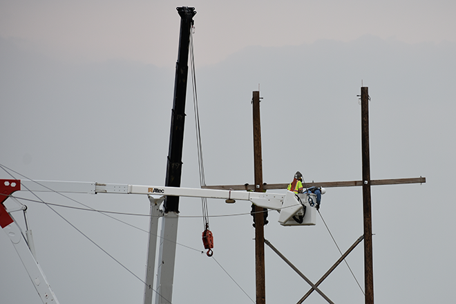 2018-07-28 PICT Power Line Repair Lineman in Bucket - Chris Sorensen
