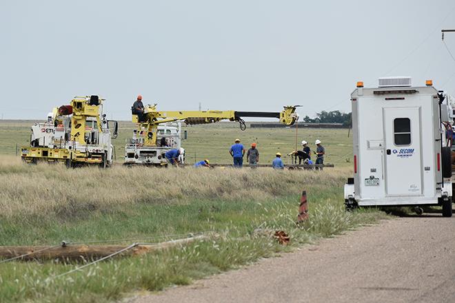 2018-07-28 PICT Power Line Repair Second Crew Prepping - Chris Sorensen