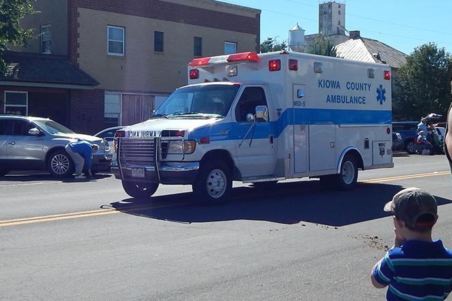 PICT Kiowa County Ambulance Parade - Chris Sorensen