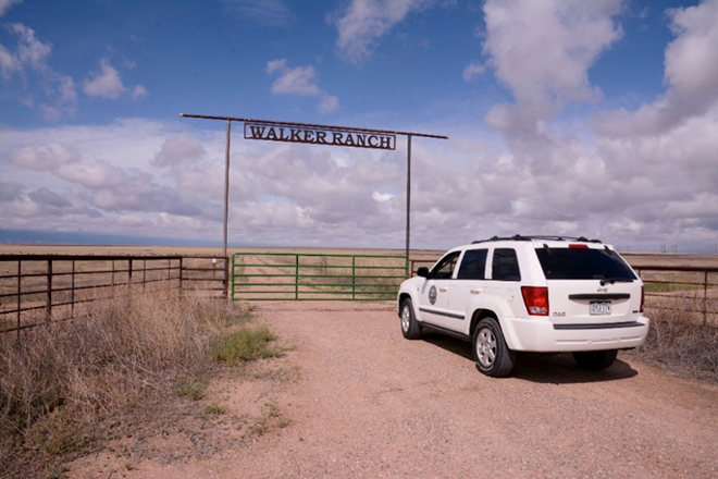 PICT Entrance to the Walker Ranch in Pueblo County - CPW